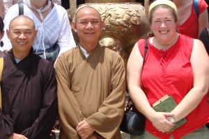 Traveling Marla with Buddhist Monks