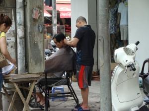 street haircut Viet Nam