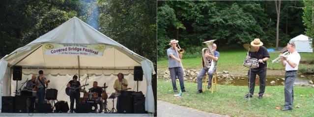 Covered Bridge Festival Musicians