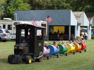 Kids' Train Covered Bridge Festival