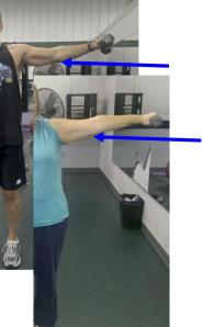 trainer fitness exercise Traveling Marla