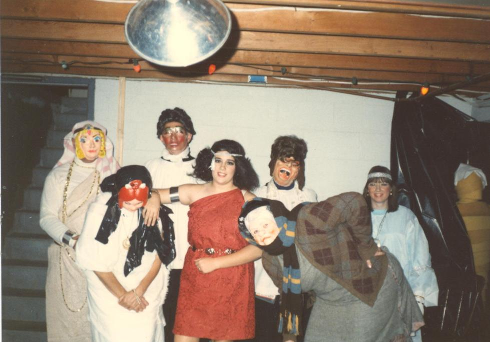 Traveling Marla Cleopatra costume