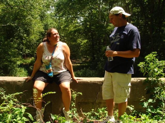 Marla Kurt Crumbling Bridge Heritage Trail