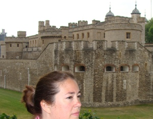 Traveling Marla Tower of London