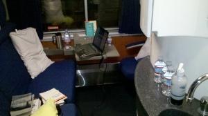 Amtrak bedroom train travel sleeper car