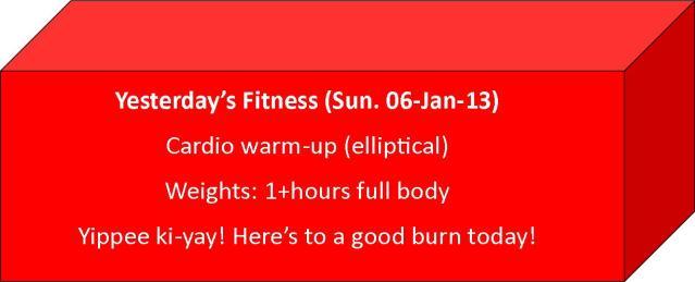 weight training cardio elliptical