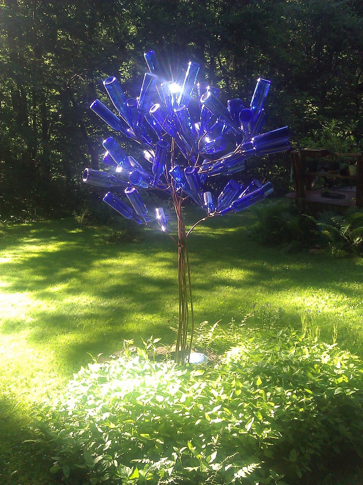 Bottle Tree Made By Kurt