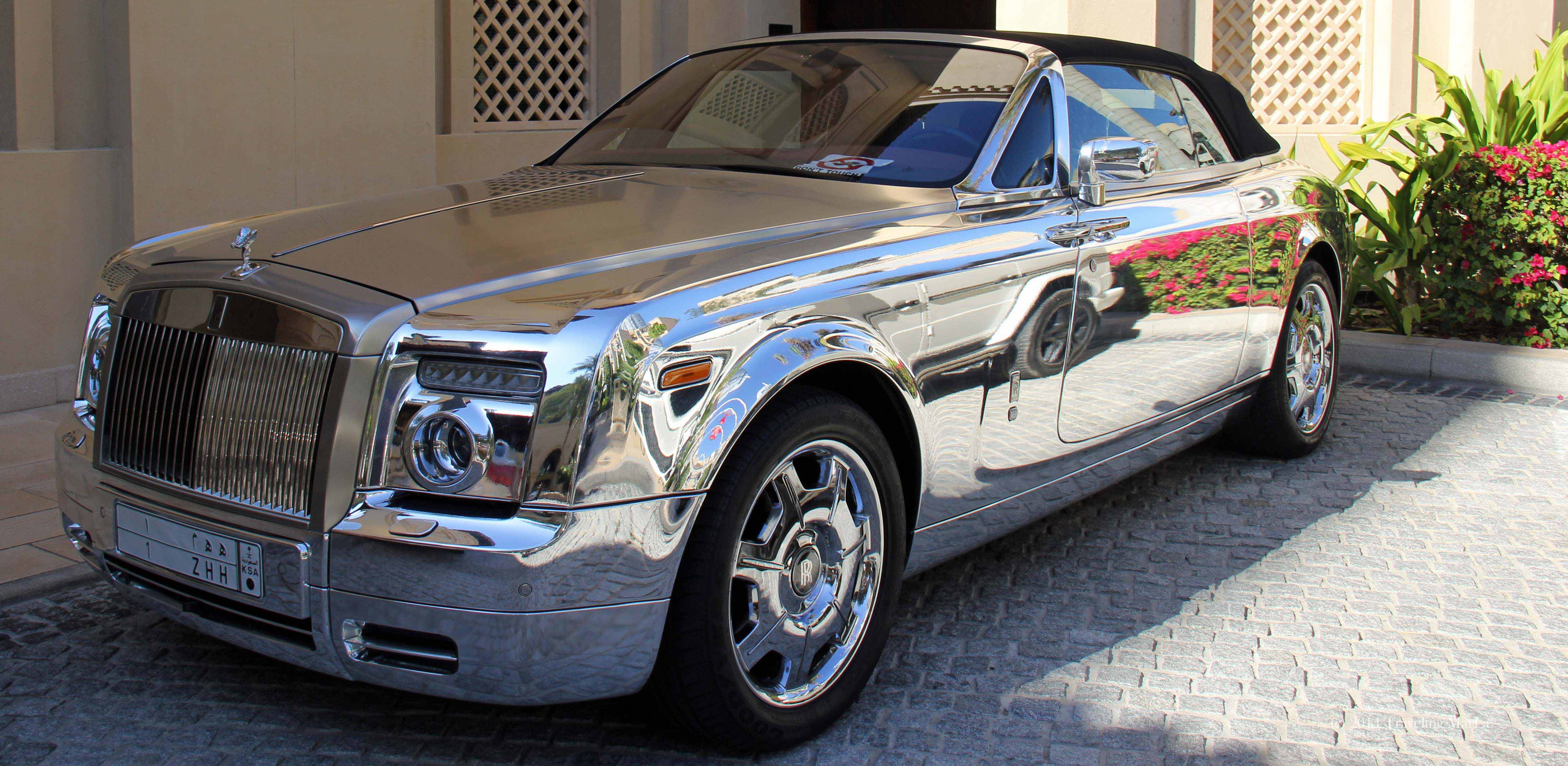 The crown prince s rolls royce phantom chrome maybe maybe not marla sink druzgal