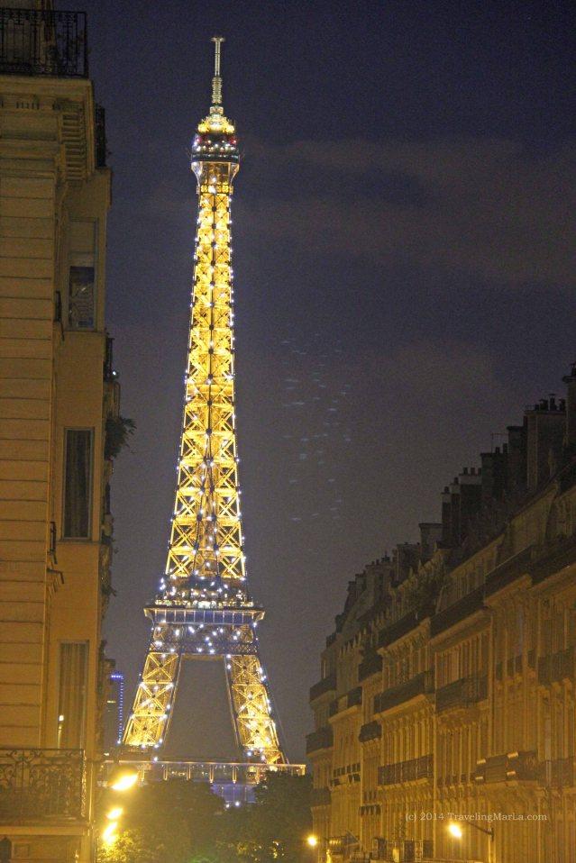 travel home Paris Bastille Day