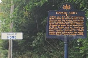 travel Pennsylvania Indiana County Ed Abbey