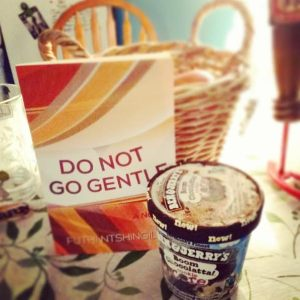 """""""Reading, with a pint of Ben & Jerry's ice cream is the way to go."""" Submitted by a reader in Pennsylvania"""