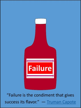 Failure Meme Truman Capote quote overcoming fear of failure